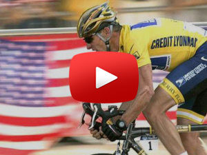 Lance Armstrong Cycleing